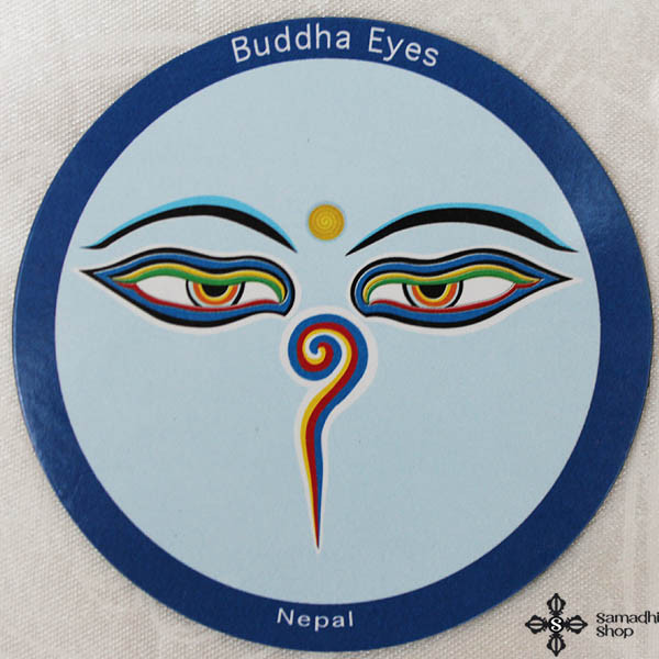 Buddha Eyes Fridge Magnet