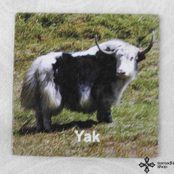 Yak Small Fridge Magnet