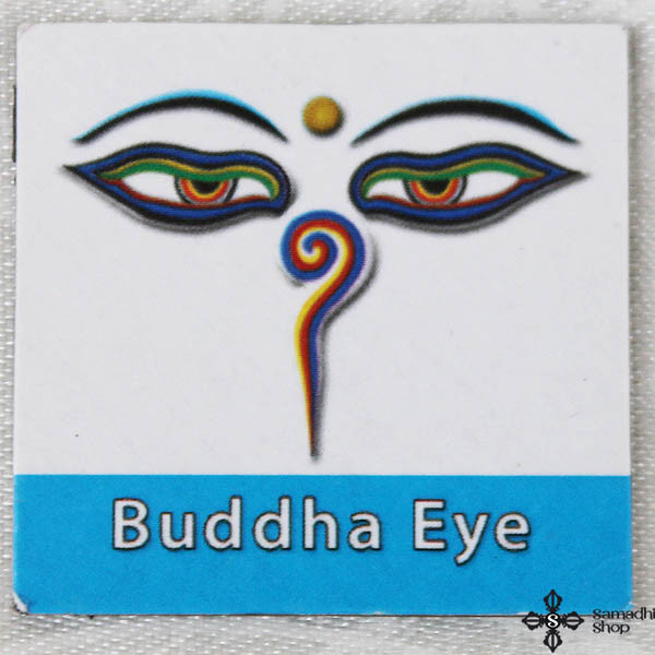 Small Buddha Eyes Fridge Magnet