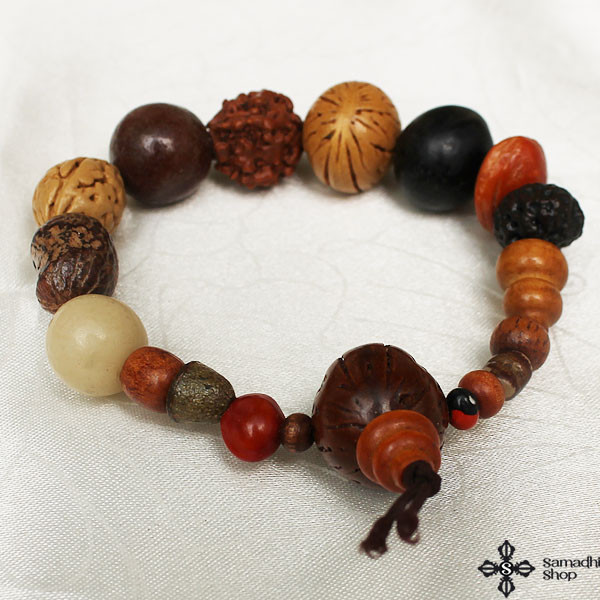 Bodhi Seeds Prayer Beads Mala Bracelet