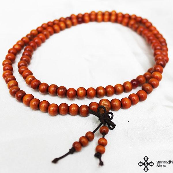 p 7858 buddhist wooden mala 108 beads 3