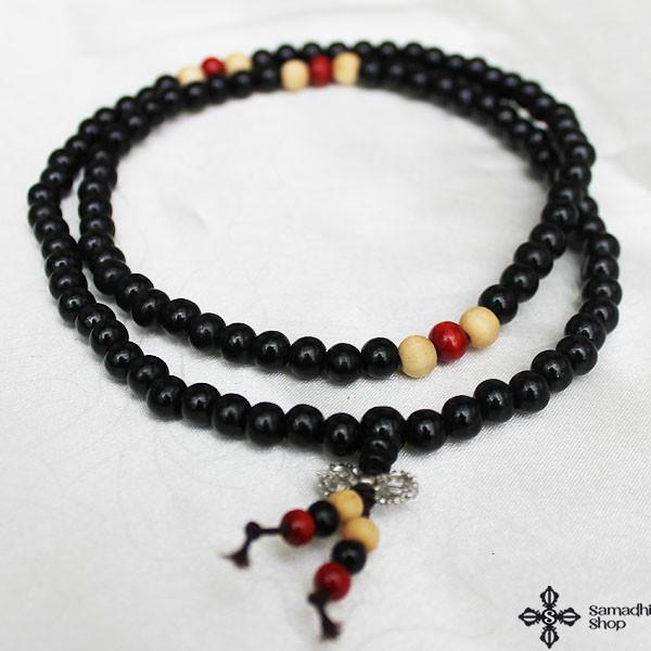 p 7879 buddhist wooden mala 108 beads 10