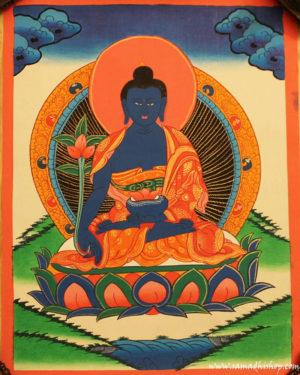 Medicine Buddha painting