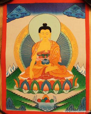 Shakyamuni Buddha painting