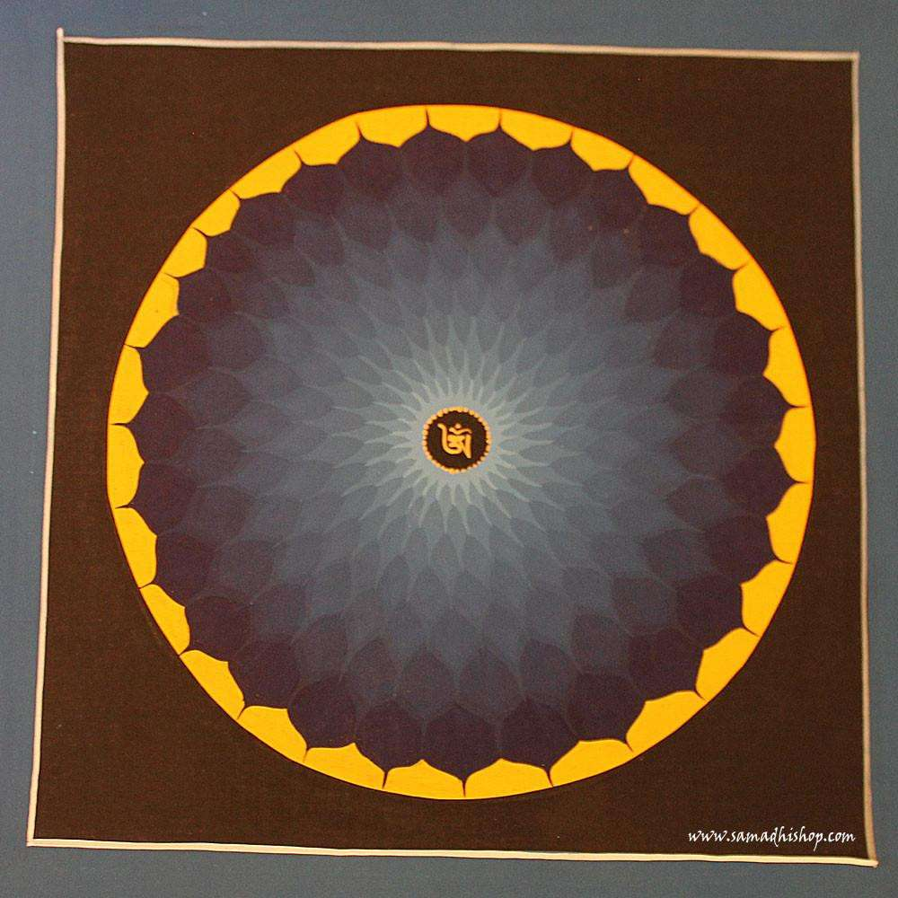 Buddhist mandala thangka painting 25x25 cm #129