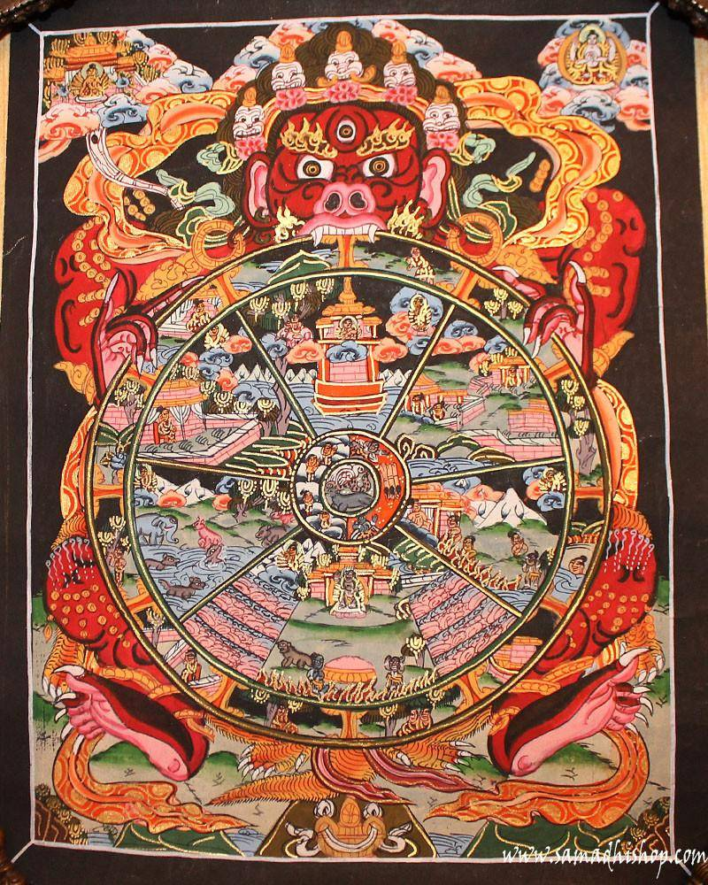Wheel Of Life painting