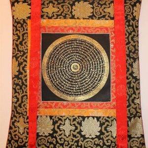 Buddhist mandala thangka